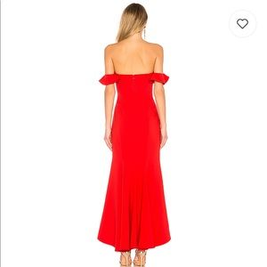 0f38d33fa948 Likely Dresses - Sunset Gown in Scarlet
